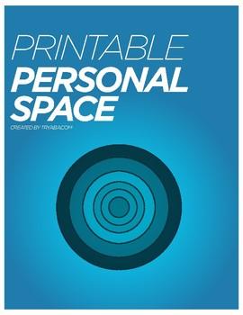 Printable Personal Space Circles