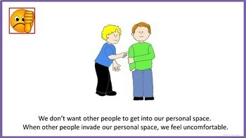 Personal Space - Social Story (FULL VERSION)