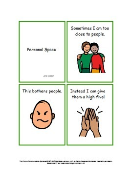 Personal Space Social Story: (Help for not just Autism)