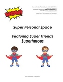 Personal Space Social Story - Superheroes