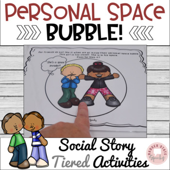 Personal Space: Teaching Story & Activities! by Badger State Speechy