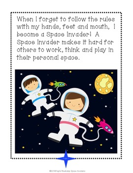"""Personal Space """"Space Invaders""""  * A Social Skills Game"""