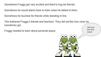 Personal Space Story