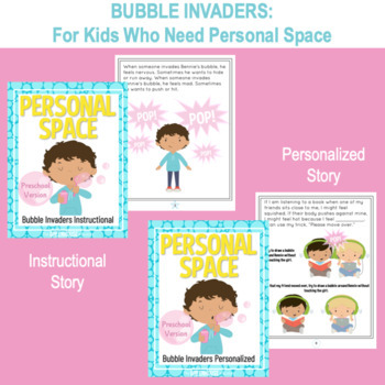 "Social Story: ""Personal Space""- two social stories in one unit"