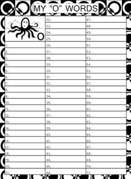 Personal Spelling Book (Grades 3, 4, 5, 6) + FREE Alphabet Characters
