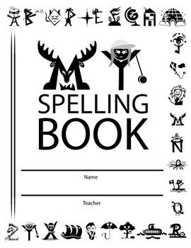 Personal Spelling Book (Grades 3, 4, 5, 6) + FREE Alphabet