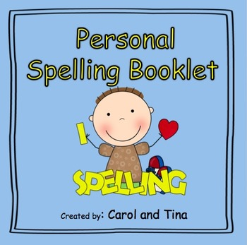 Personal Spelling Booklet