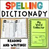 Personal Spelling Dictionary | Word Collector | Printable
