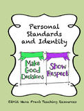 Personal Standards and Identity - Grade 6 Health