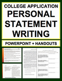 Personal Statement College Writing Guide: NO PREP