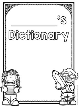 Personal Student Dictionary (Aligned with Level 2 Phonics)