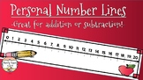 Personal Student Number Line