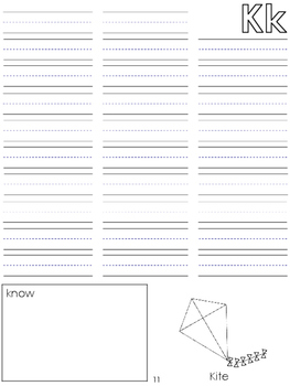 Personal Student Word Wall Book