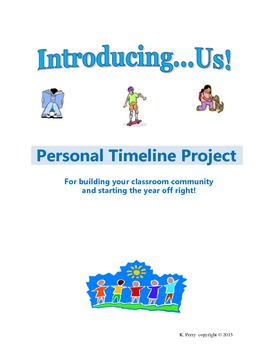 introducing us personal timeline project for back to school by