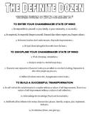 Personal Transformation Essay Graphic Organizers
