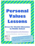 Personal Values Unit (Health Education)