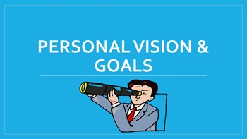 Personal Vision & Goals Lesson