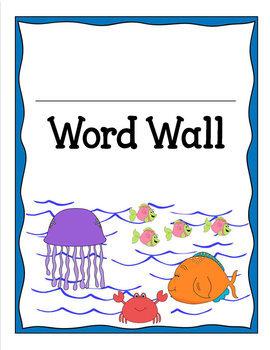 WORD WALL - OCEAN FUN
