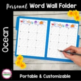 WORD WALL - OCEAN FUN