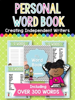 Personal Word Book: Building Independent Writers