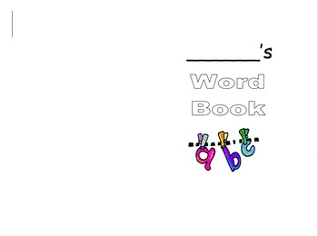 Personal Word Book - Intermediate