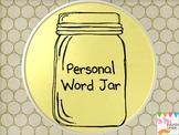 Personal Word Jar