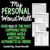 Personal Word Wall