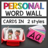 Personal Word Wall Dollar Tree Snack Size