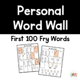 Personal Word Wall (Fry Words)