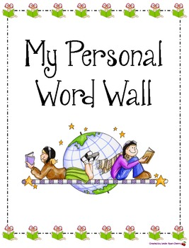 Personal Word Wall Handout (Portrait Version)