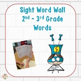 Personal Word Walls:  2nd-3rd Grade Words in Superhero Theme