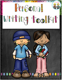 Personal Writers Toolkit ~ Writer's Workshop / Cross Curri