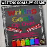Writing Goals Clip Chart - 2nd Grade