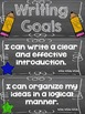 Writing Goals Clip Chart - 5th Grade