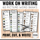 Personal Work on Writing Lists BUNDLE