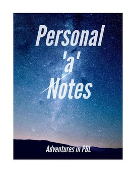 Personal 'a' Notes