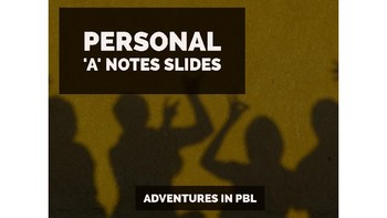 Personal 'a' Notes PowerPoint