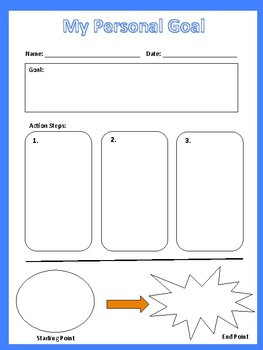 Personal and Academic Goal Organizer