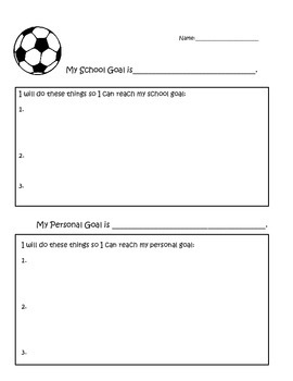 Free Goal-setting Worksheet | Goal setting worksheet, Goal ...