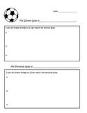 Personal and Academic Goal Setting Worksheet