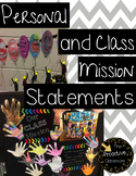 #2 Leaders Plan - Personal and Class Mission Statements