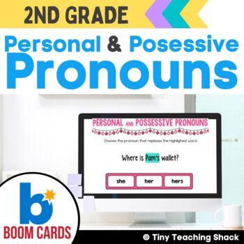 Personal and Possessive Pronoun Boom Cards