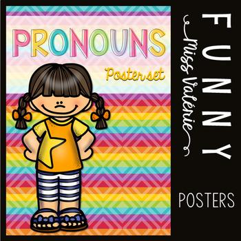 Personal Pronouns Poster Set