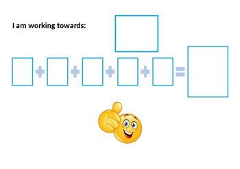 Personal reward chart