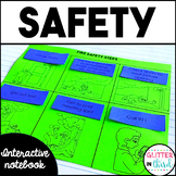 Personal safety and injury prevention Interactive Notebook