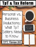 Personal vs. Business Deductions: What TpT Sellers Need to Know
