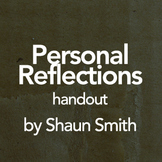 Personal/Spiritual Reflections Feedback