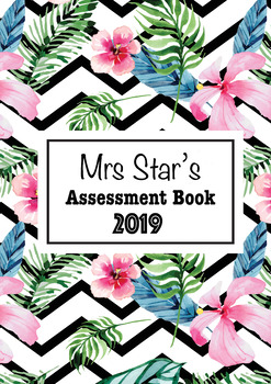 Personalised Assessment Book Cover