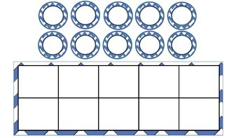 Personalised Counters or Coins PLUS Task cards, Bingo & Ten Frames