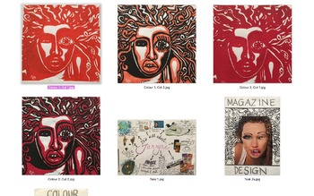 Lino Printing: Portraits